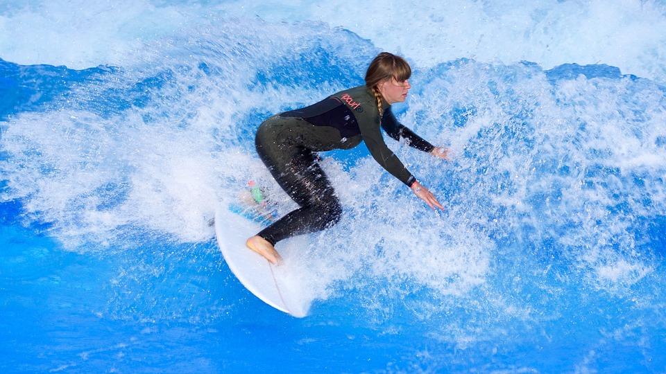 surfing, surf, surfboard