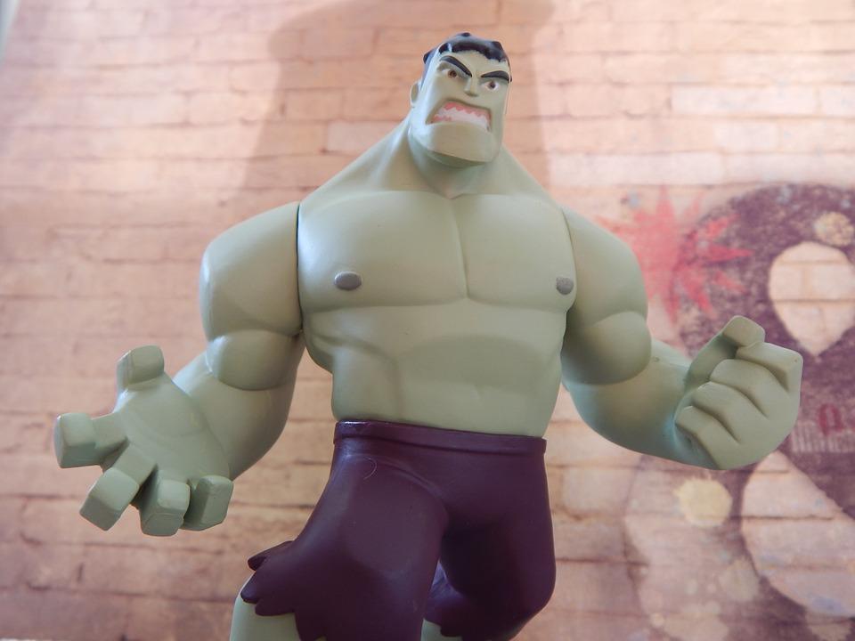 hulk, superhero, angry