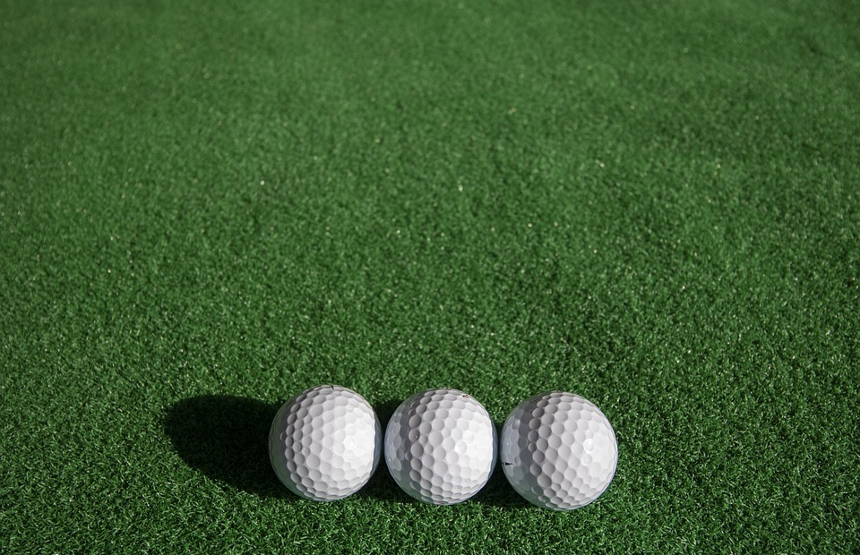golf, sport, ball