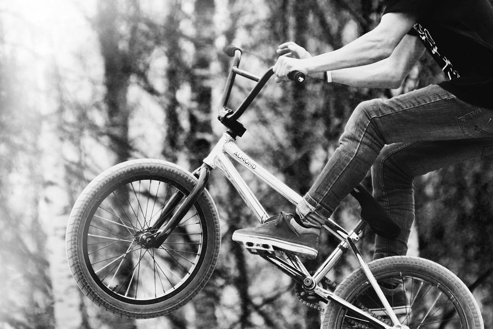 bmx, bike, bikepark