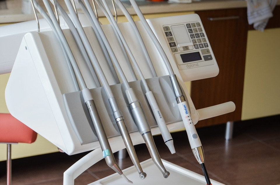 dentist, equipment, drill