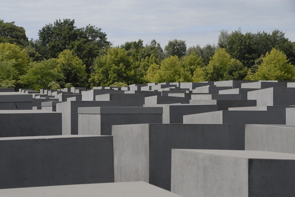 berlin, memorial, holocaust