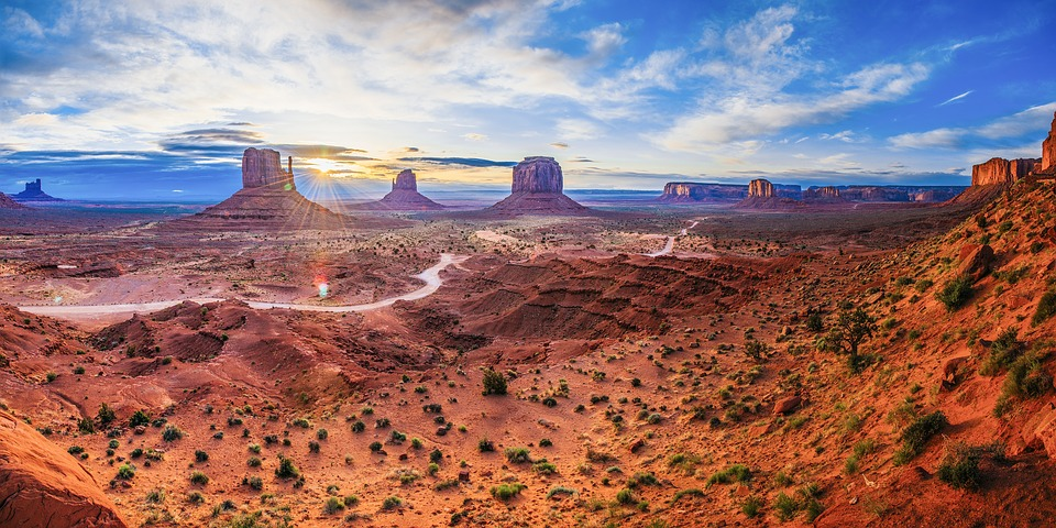 monument valley, utah, landscape