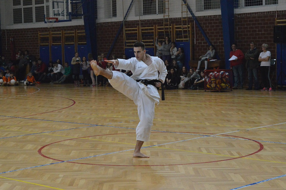 sport, karate, training