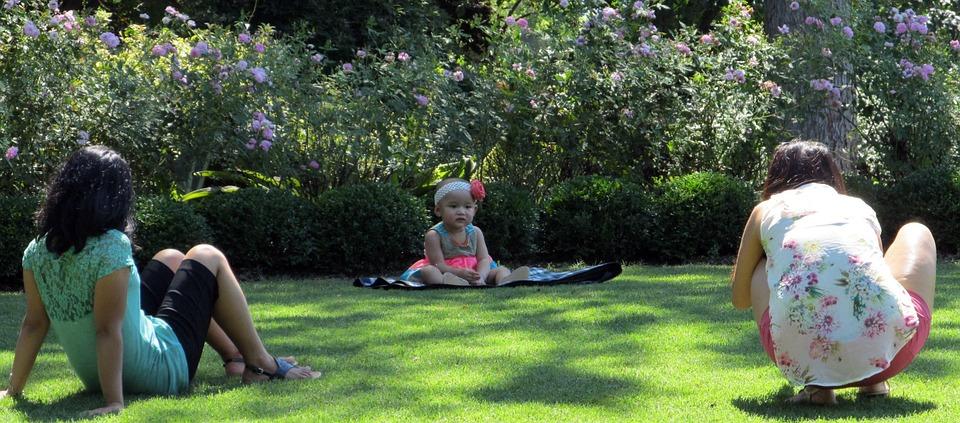 picnic, baby, child
