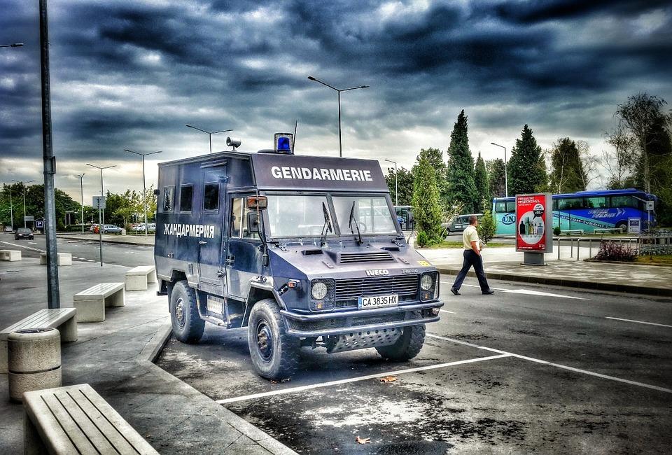 police, auto, bulgaria