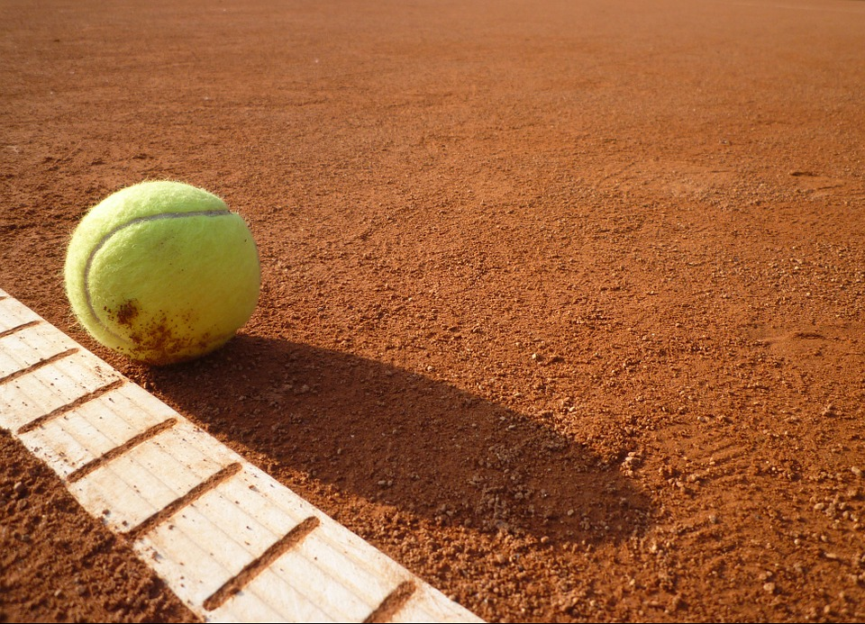 ball sports, tennis court, tennis
