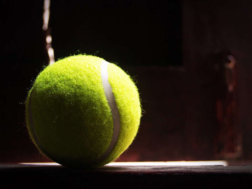 ball, racket, white