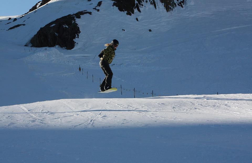 snowboard, snowboarding, freeride