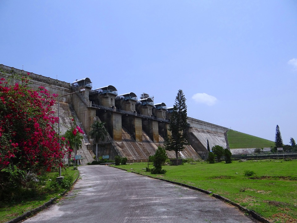 dam, hemavathi river, tourist attraction