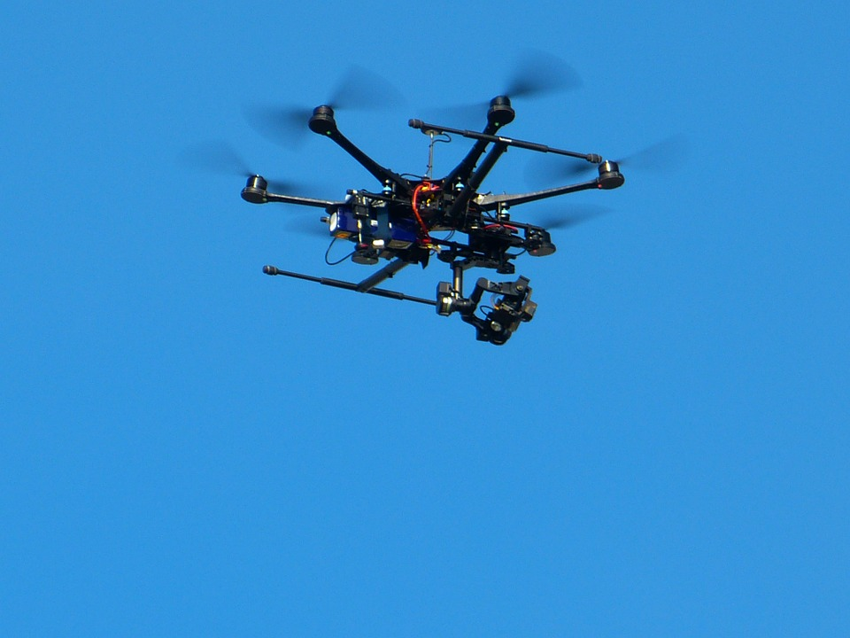 air monitoring, hexacopter, quadcopter
