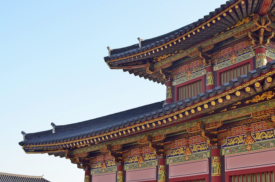 korea, palace, traditional