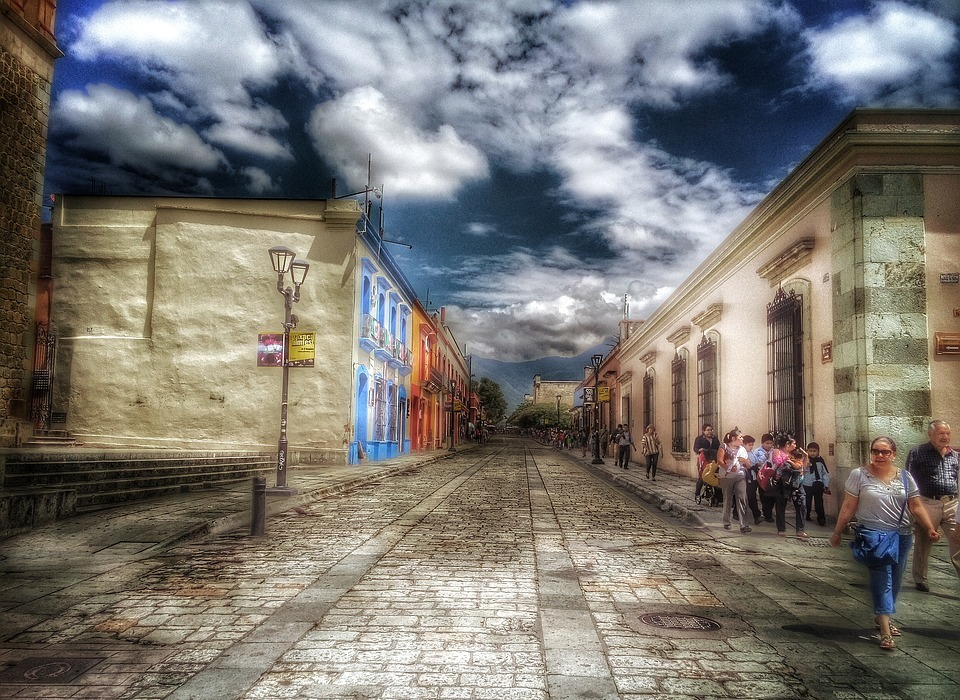 colonial, oaxaca, historic centre