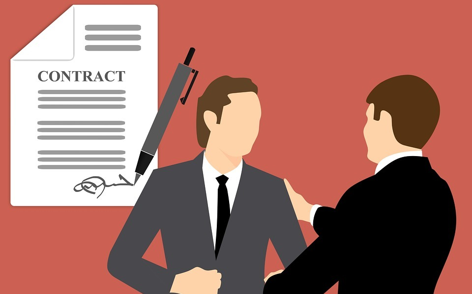 business, contract, agreement