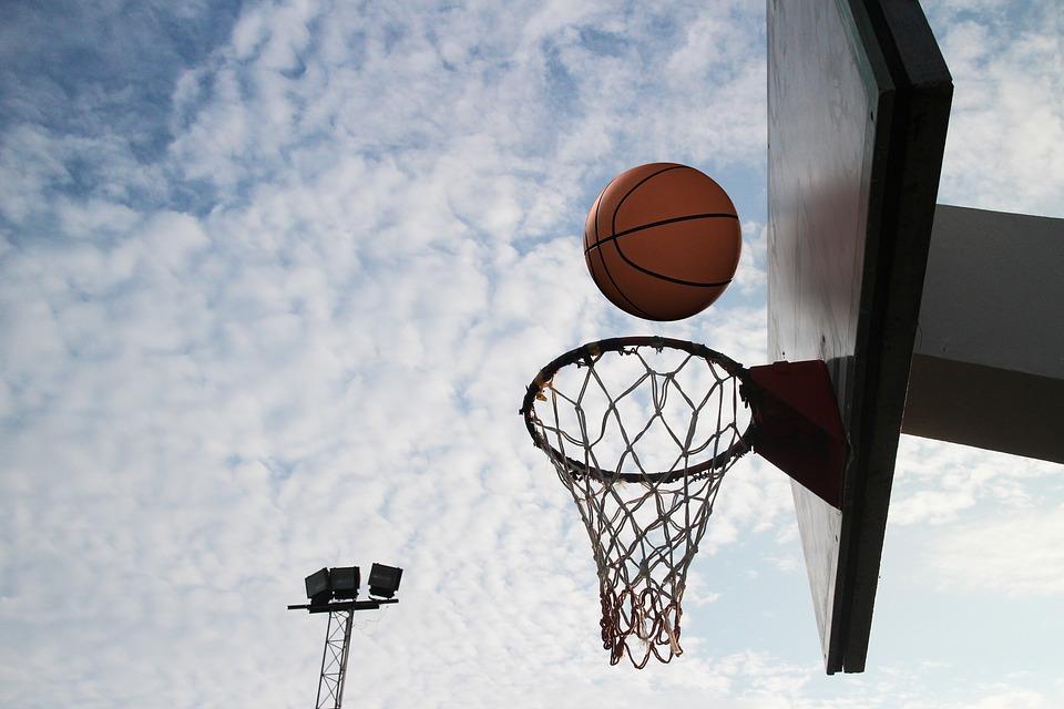 basketball, circle, throw