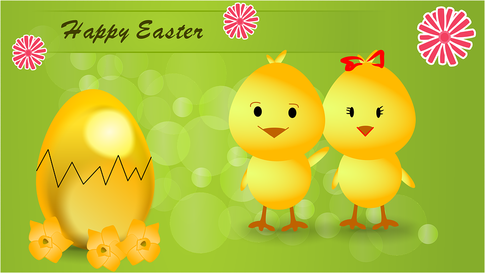 easter, holidays, chick