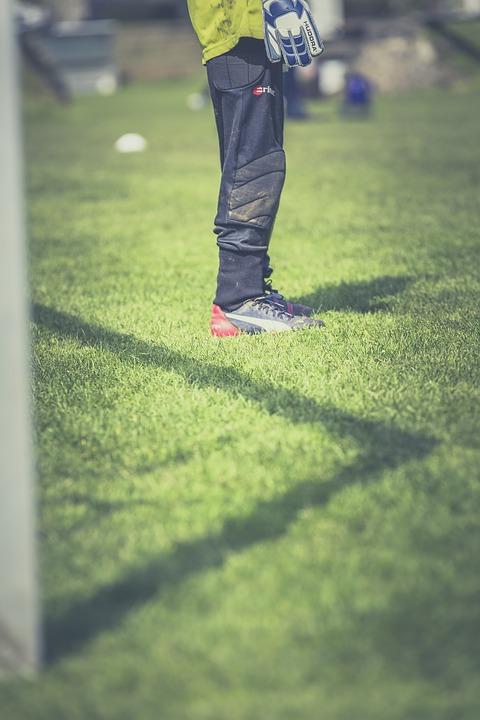 football, goalkeeper, footballers