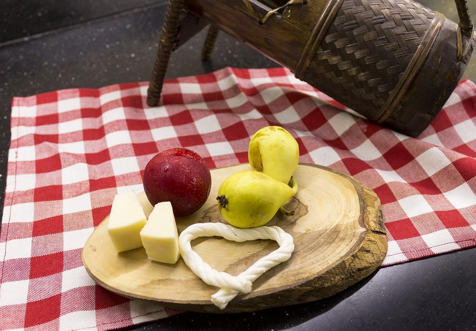 food, fruit, cheese