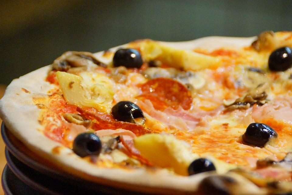 pizza, food, dish