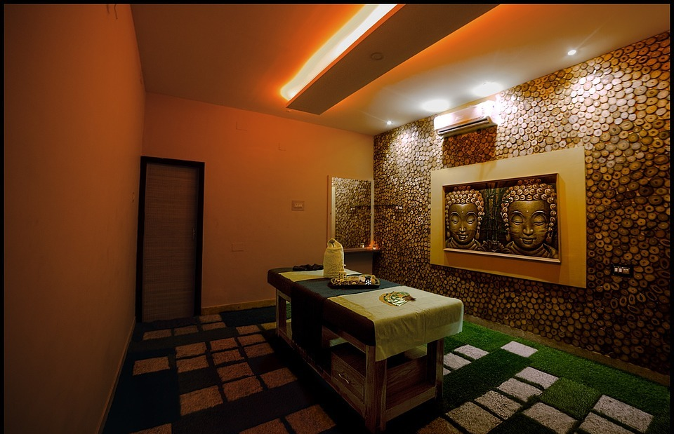 massage, room, indian