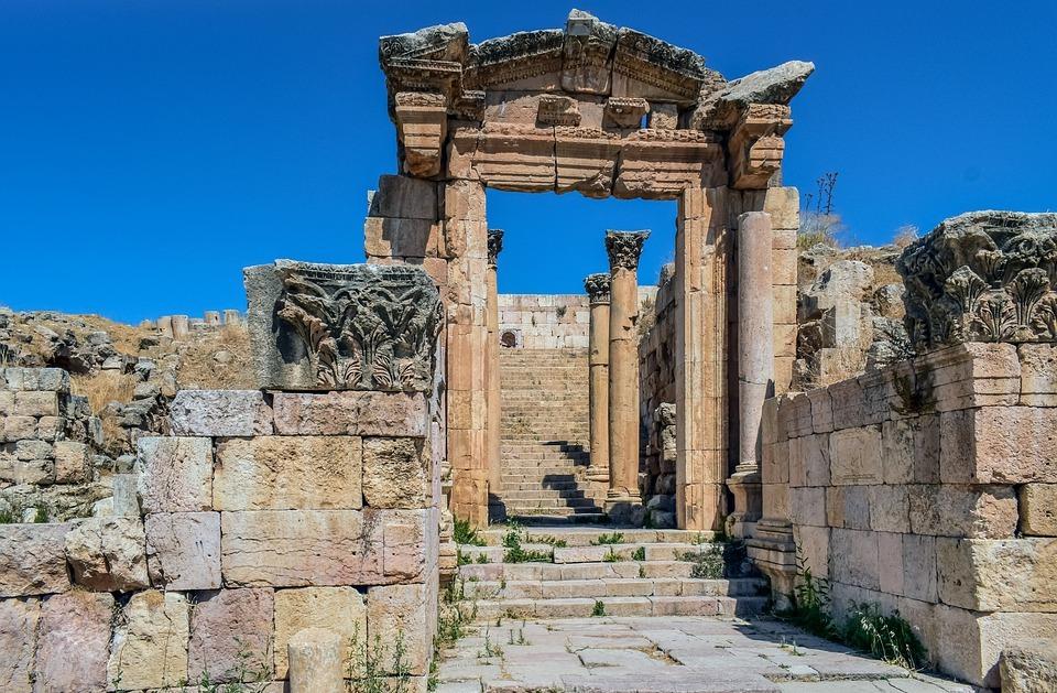 architecture, ruins, ancient