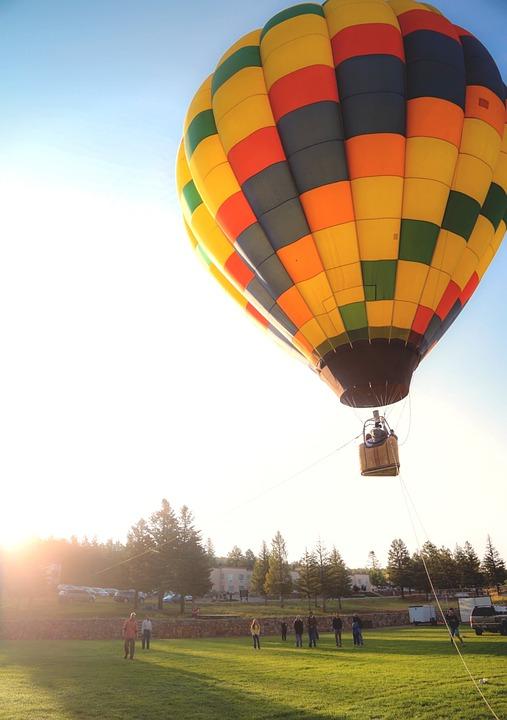 hot air balloon, balloon, ballooning