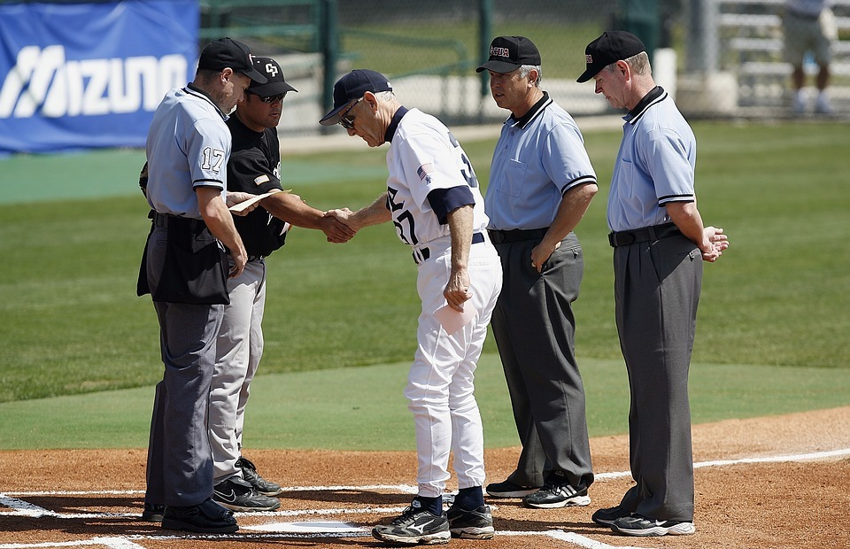 baseball, umpires, coaches