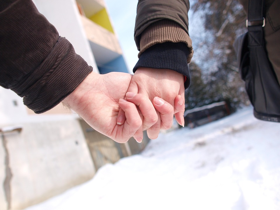 love, couple, holding hands