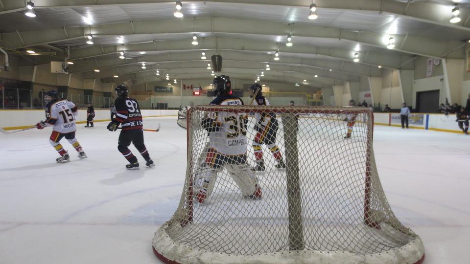 hockey, arena, game
