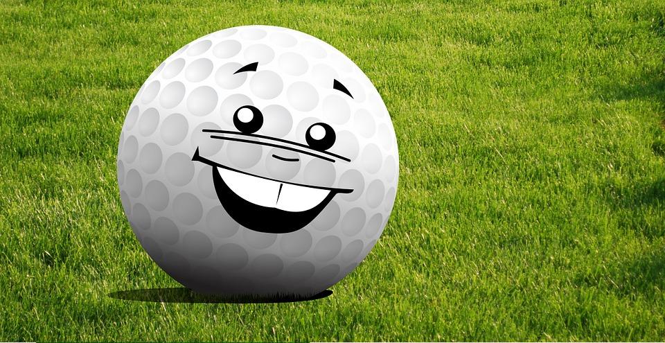 golf, mascot, pin