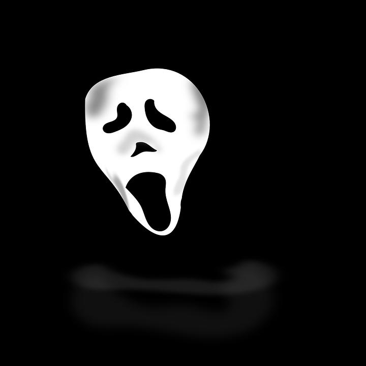 ghost, costume, scare