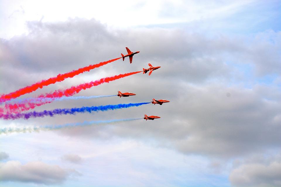 jet, air display, airshow
