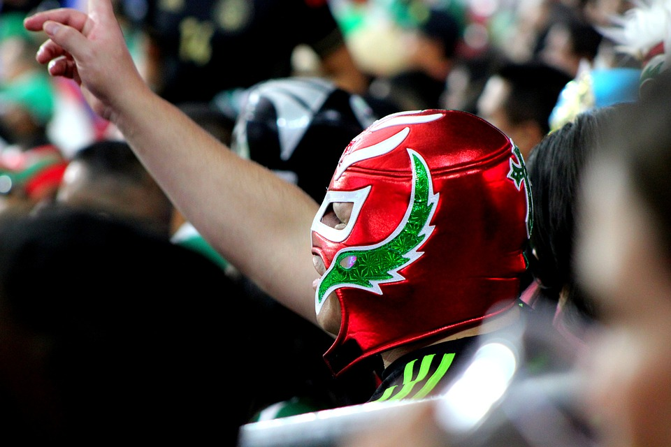 mexican, wrestling, mask