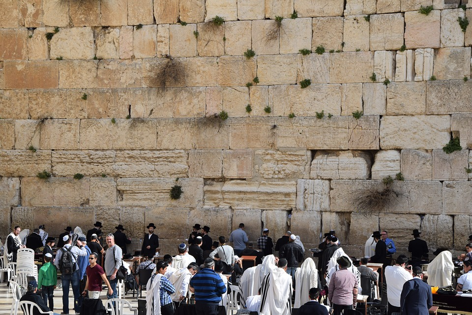 prayer, wailing wall, jews