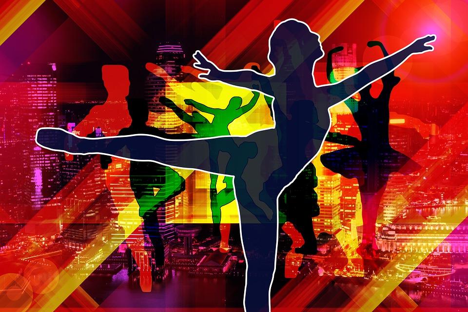 ballet, dancers, woman