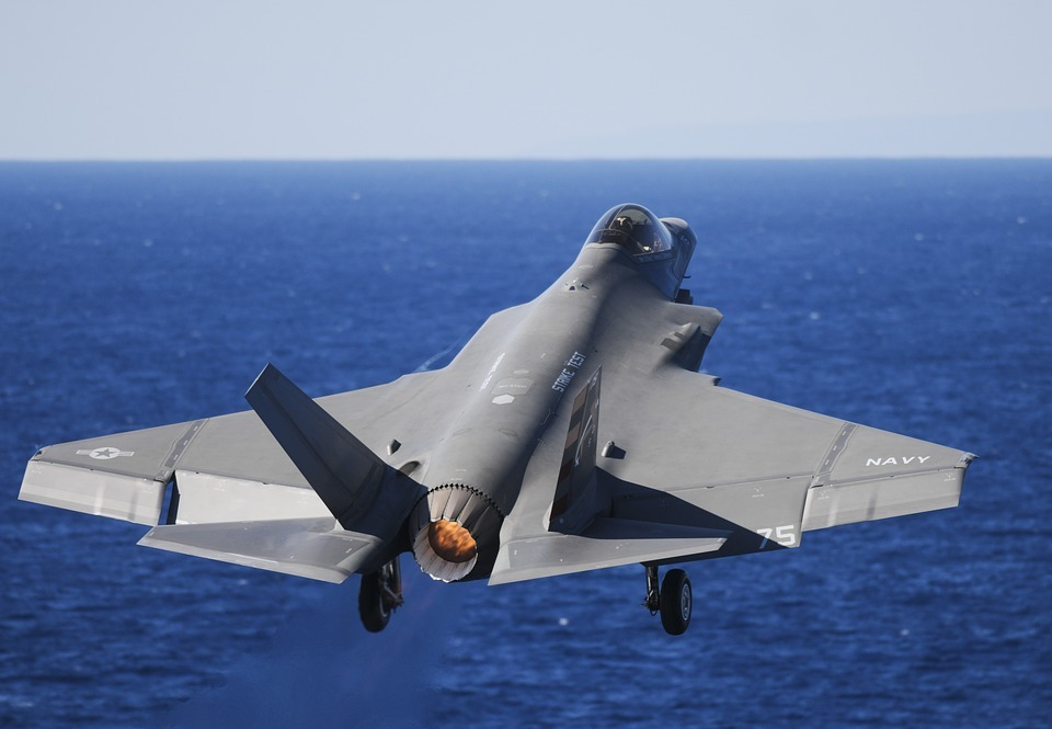 military fighter jet, test, flight