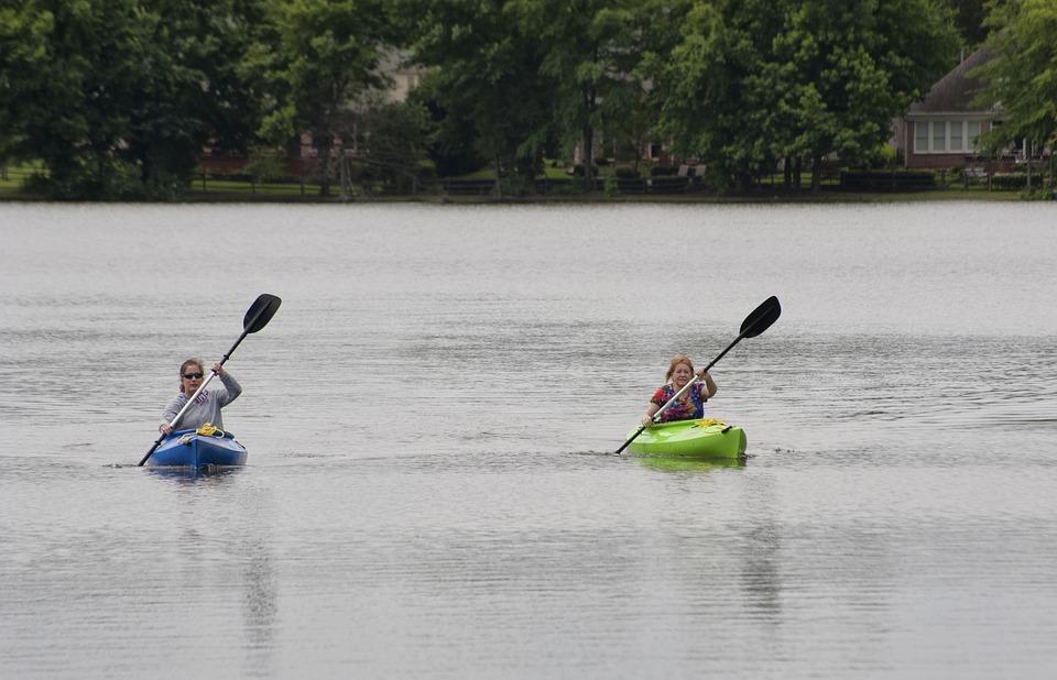 kayak, women, sport