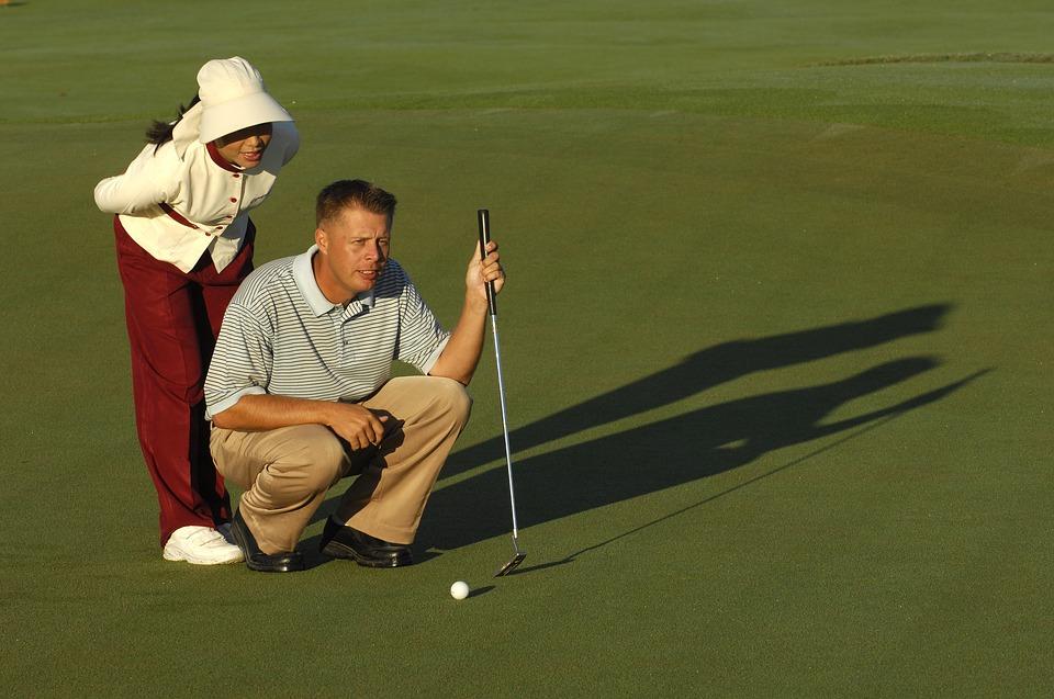 golf, sport, game