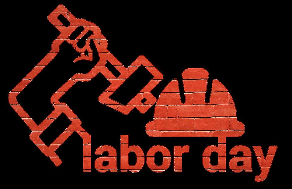 clipart, sticker, labor day