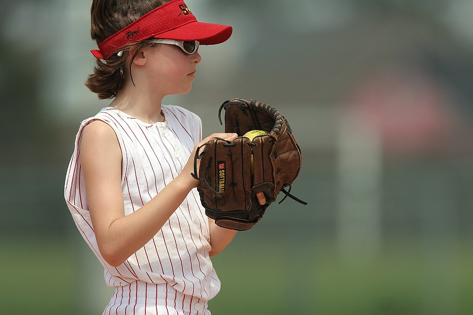 softball, pitcher, player