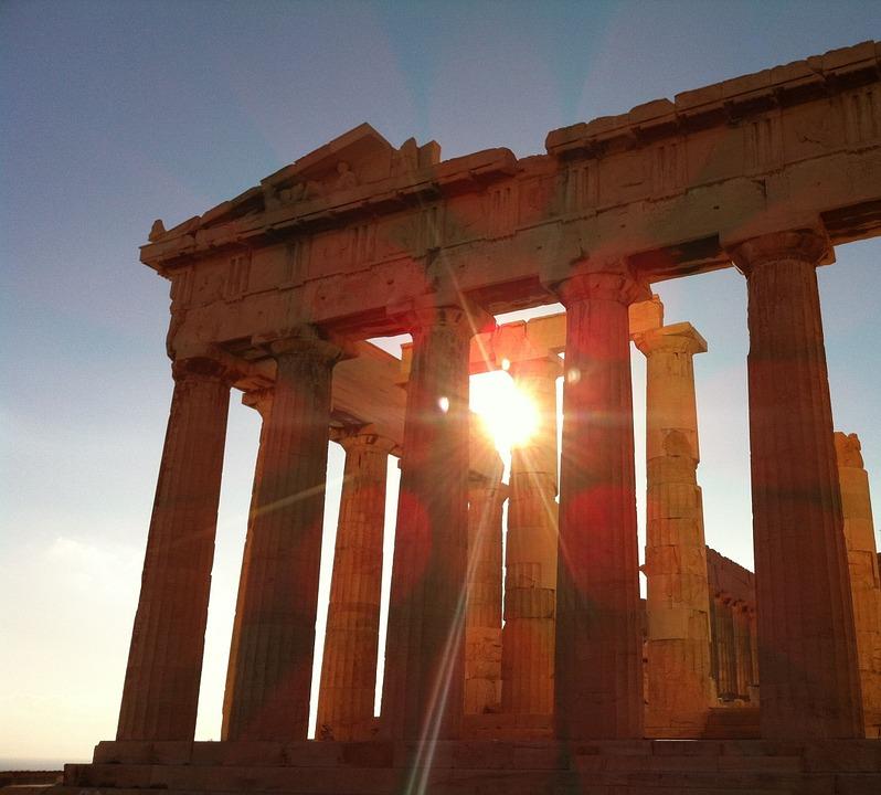 athens, the parthenon, greek