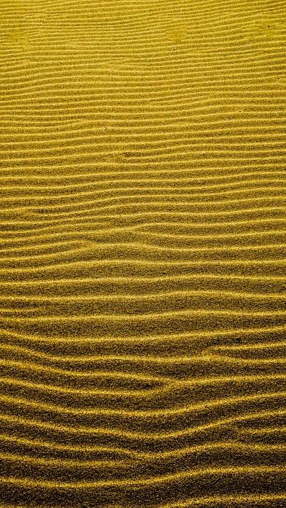 sand, ripple, pattern