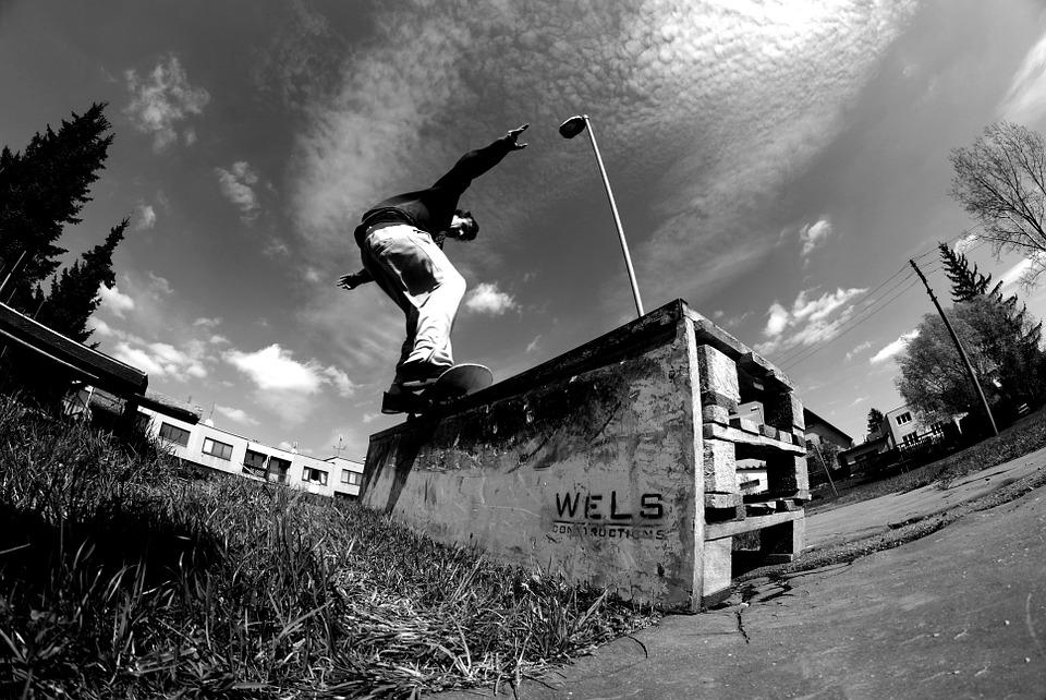 skateboard, skateboarding, adrenaline