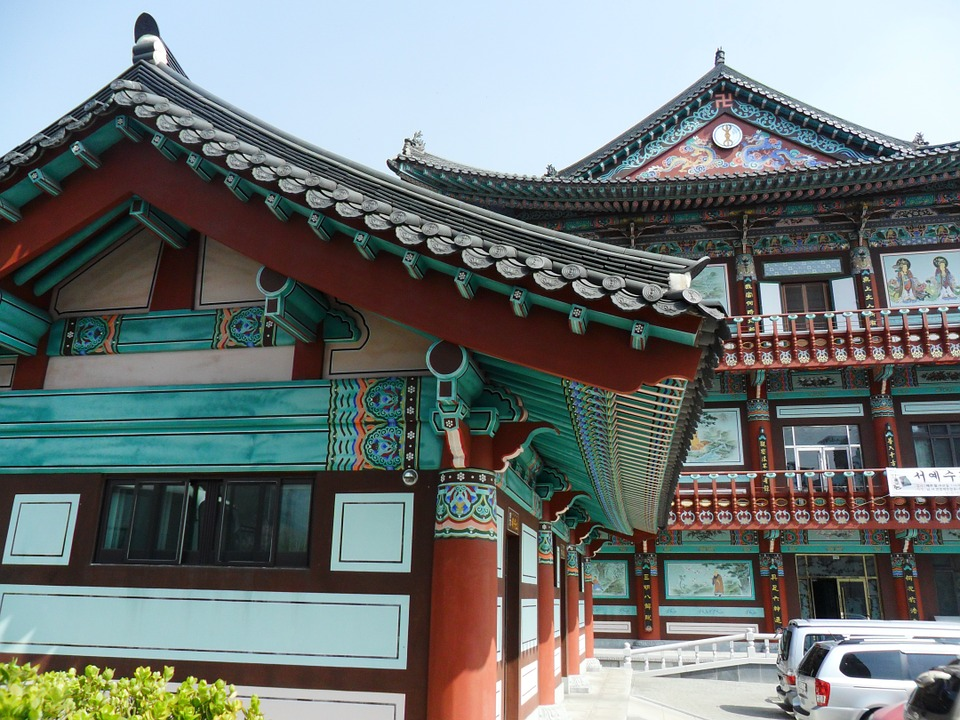 korea, south korea, temple
