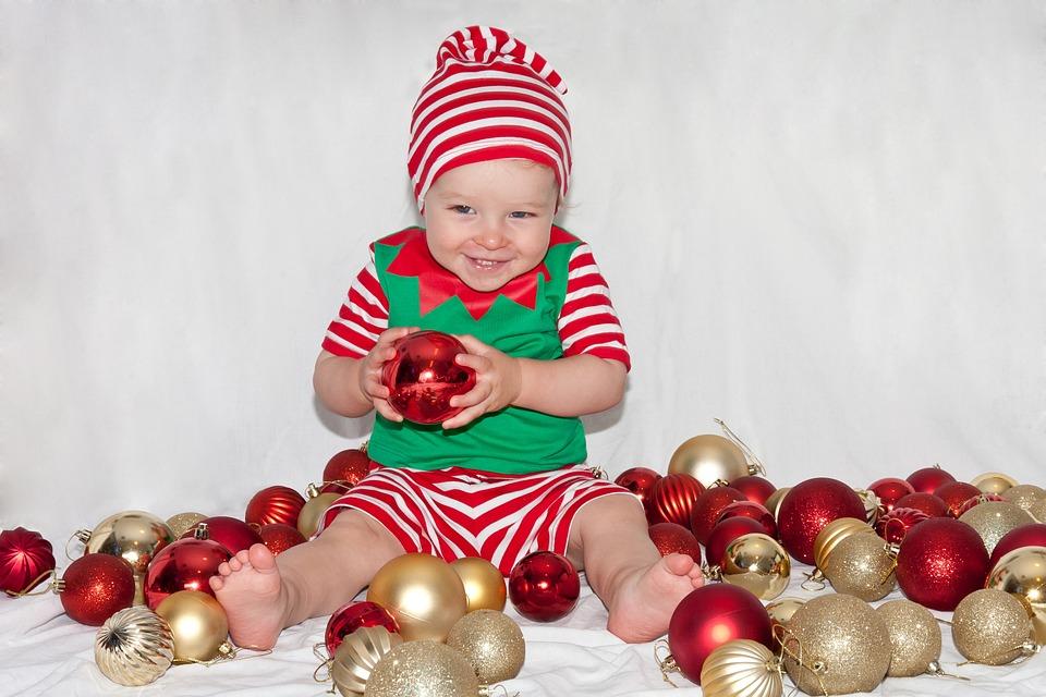 boy, christmas, elf