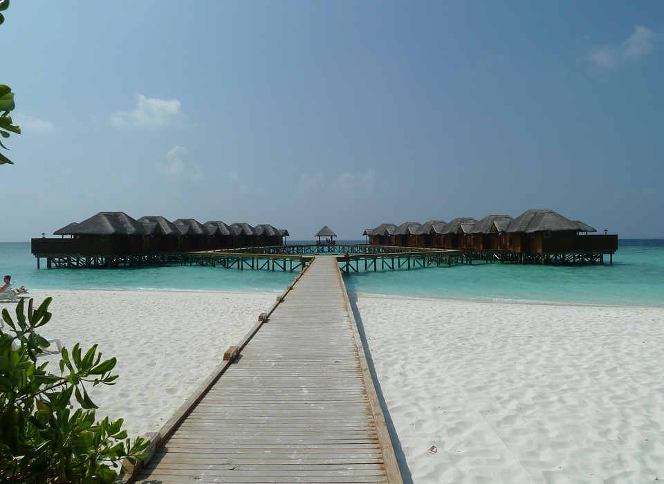 paradise, honeymoon, beach
