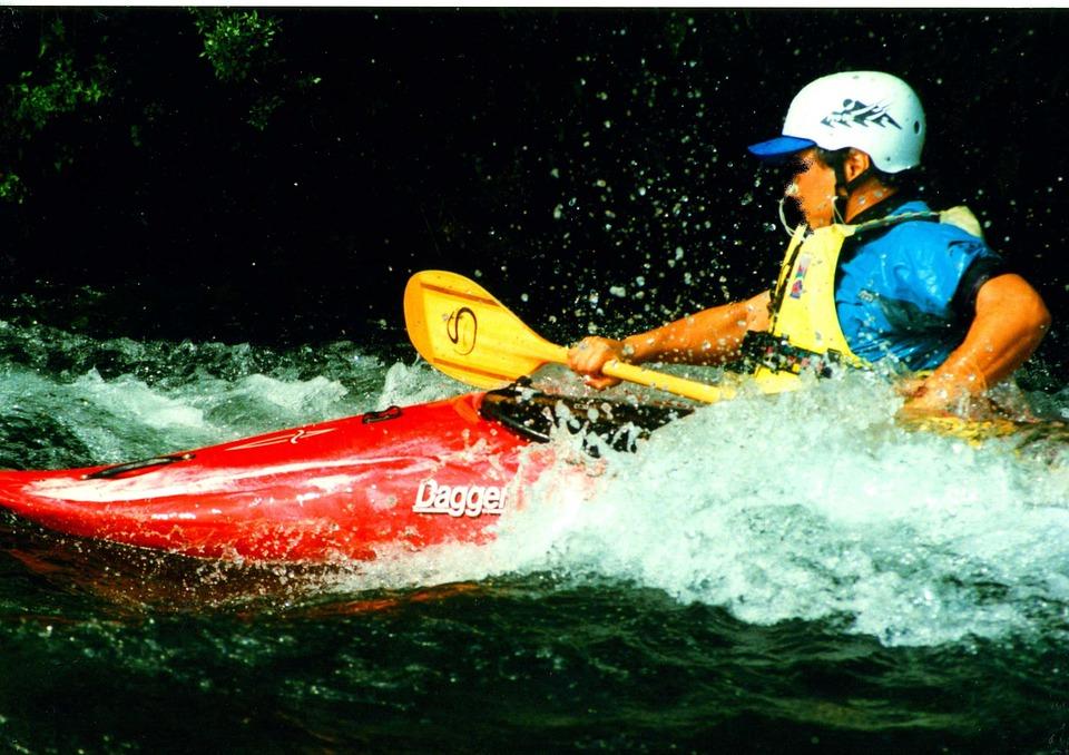 kayaking, kayaker, sport