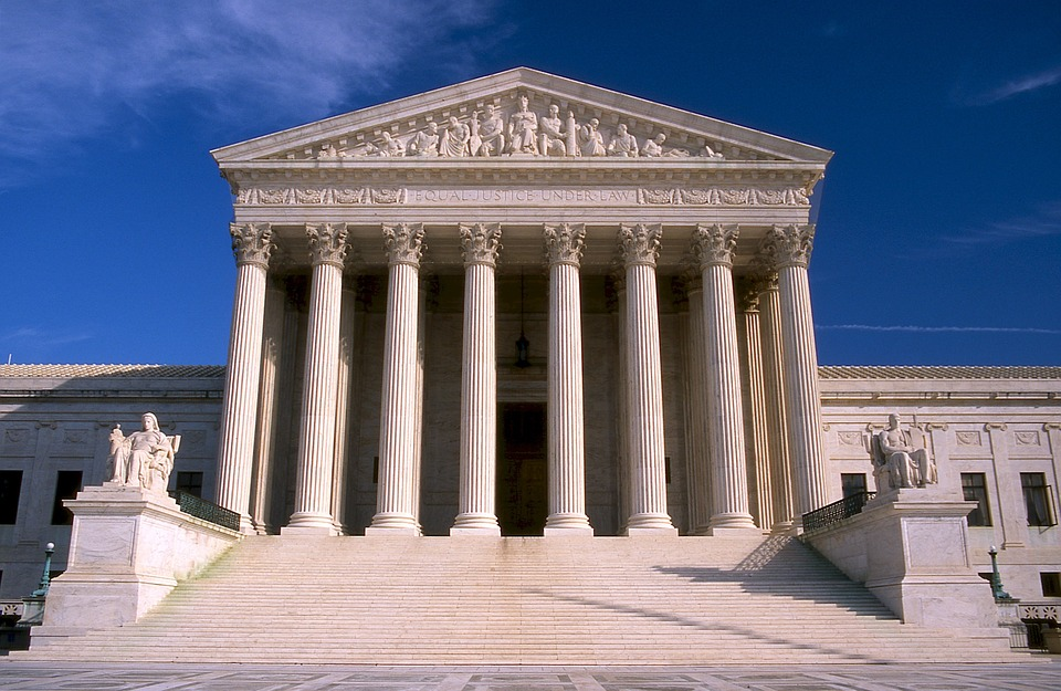 supreme court, building, usa