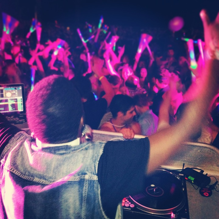 dj, music, party