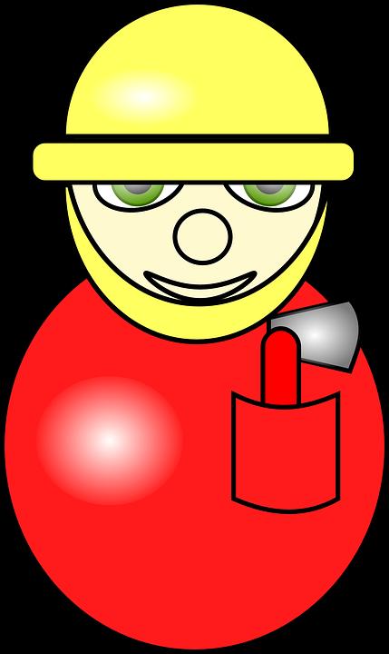 fireman, avatar, helmet